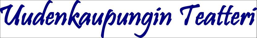 Uudenkaupungin Teatteri teksti logo